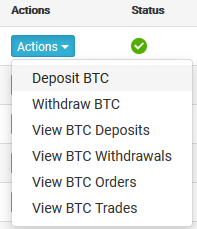 how to trade with bitcoin on coinexchange