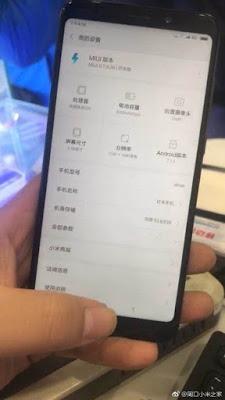 Live image of Xiaomi Redmi note 5