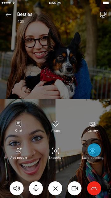 skype video recording