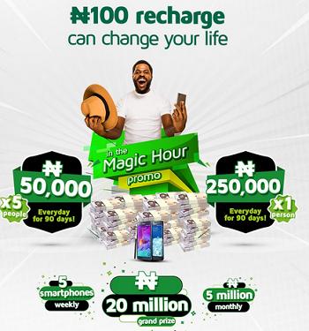 9mobile magic hour promo