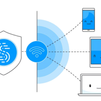 VPn connections tethering