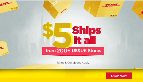 DHL Launches Africa eShop – Ship from over 200 US/UK stores to your door step