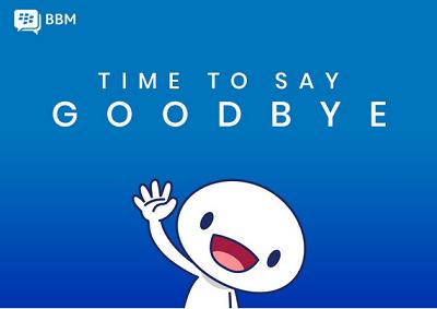 BBM shutting down