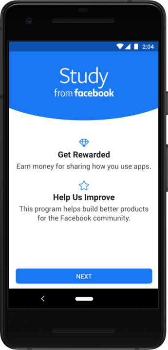 Facebook research program study