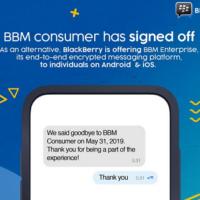 BBM messenger is dead