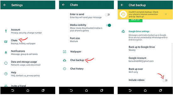 whatsapp mobile data