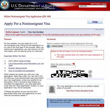 Visa applicants