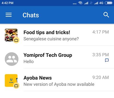 mtn chat messenger ayoba