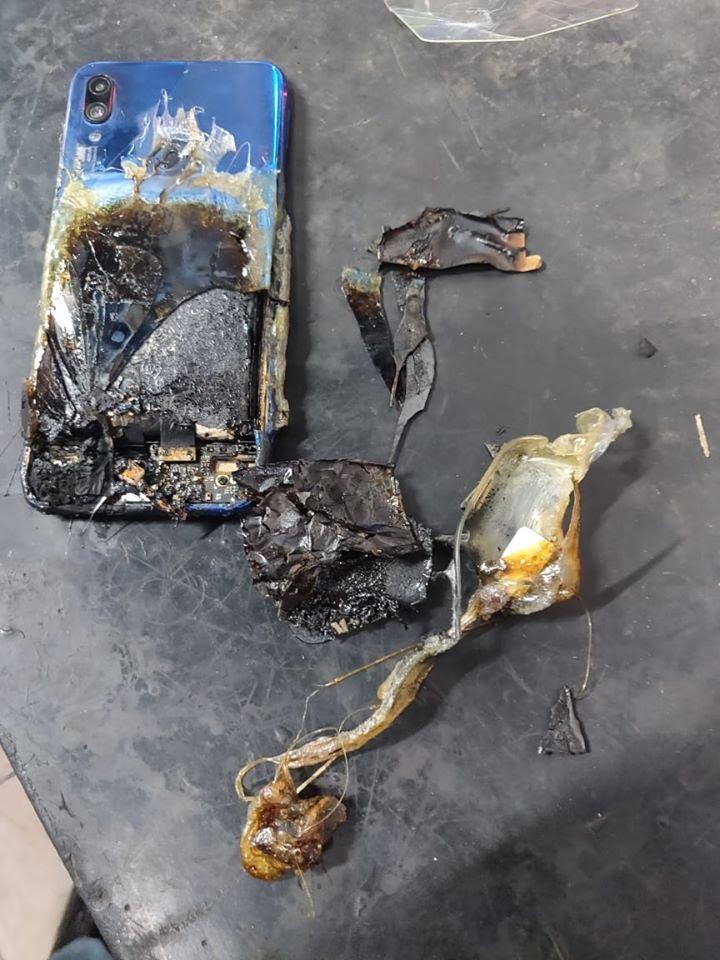 xiaomi phone explosion