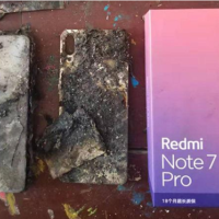 Xiaomi Redmi exploded