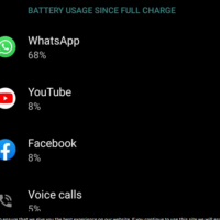 whatsapp battery drain