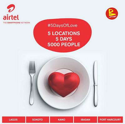 Airtel 5 days of love