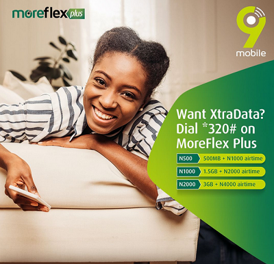 9Mobile Launches MoreFlex Plus which Offers More Data More Airtime