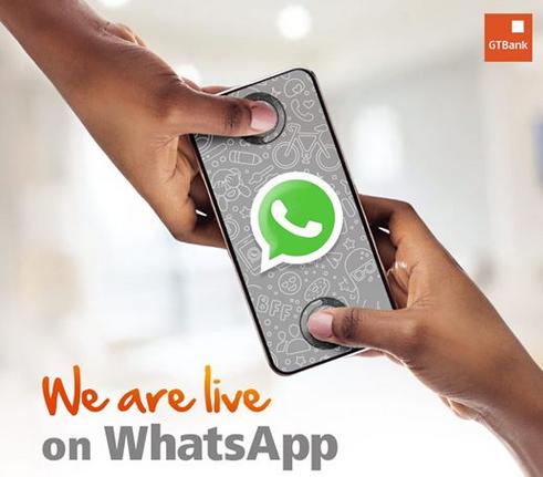 GTbank WhatsApp