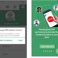 SOS alert app