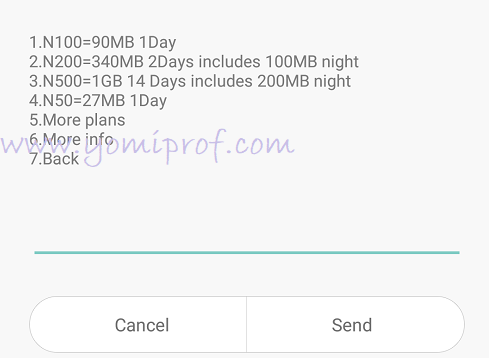 Glo NG data plan
