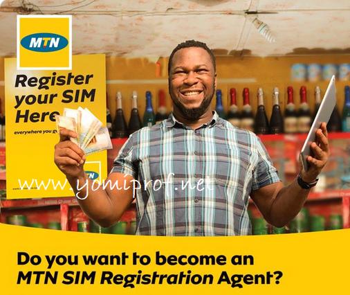 MTN Sim registration agent