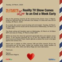 Ultimate Love Reality show