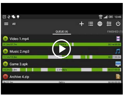 ADM Downloads faster