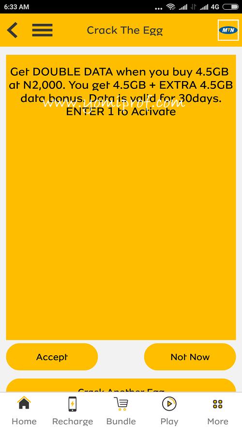 MTN data offer