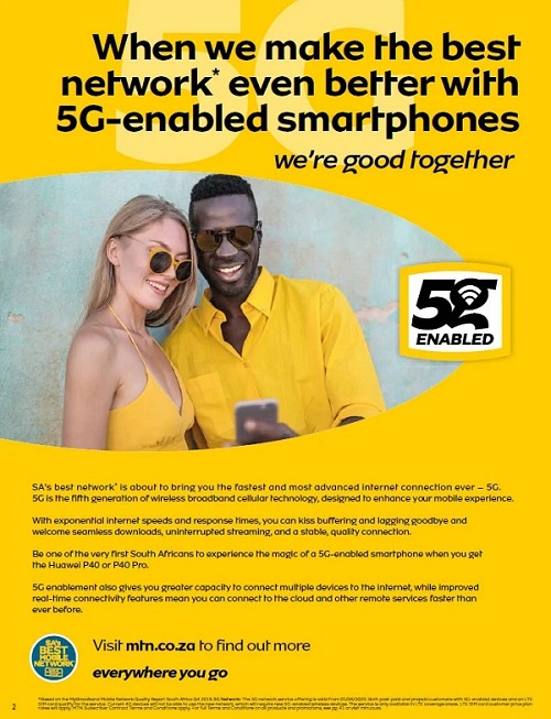 MTN 5G network promotion