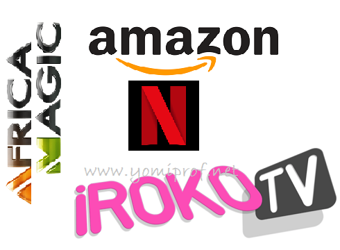 African Magic Netflix Irokotv Amazon