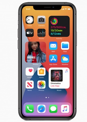 Apple iOS 14 Home screen widget