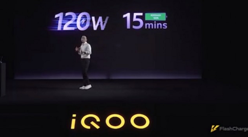 iQOO flash charge