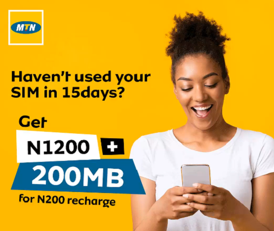 MTN Free Data Airtime recharge
