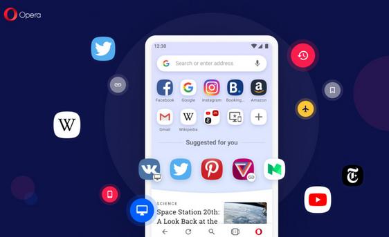 Opera desktop android