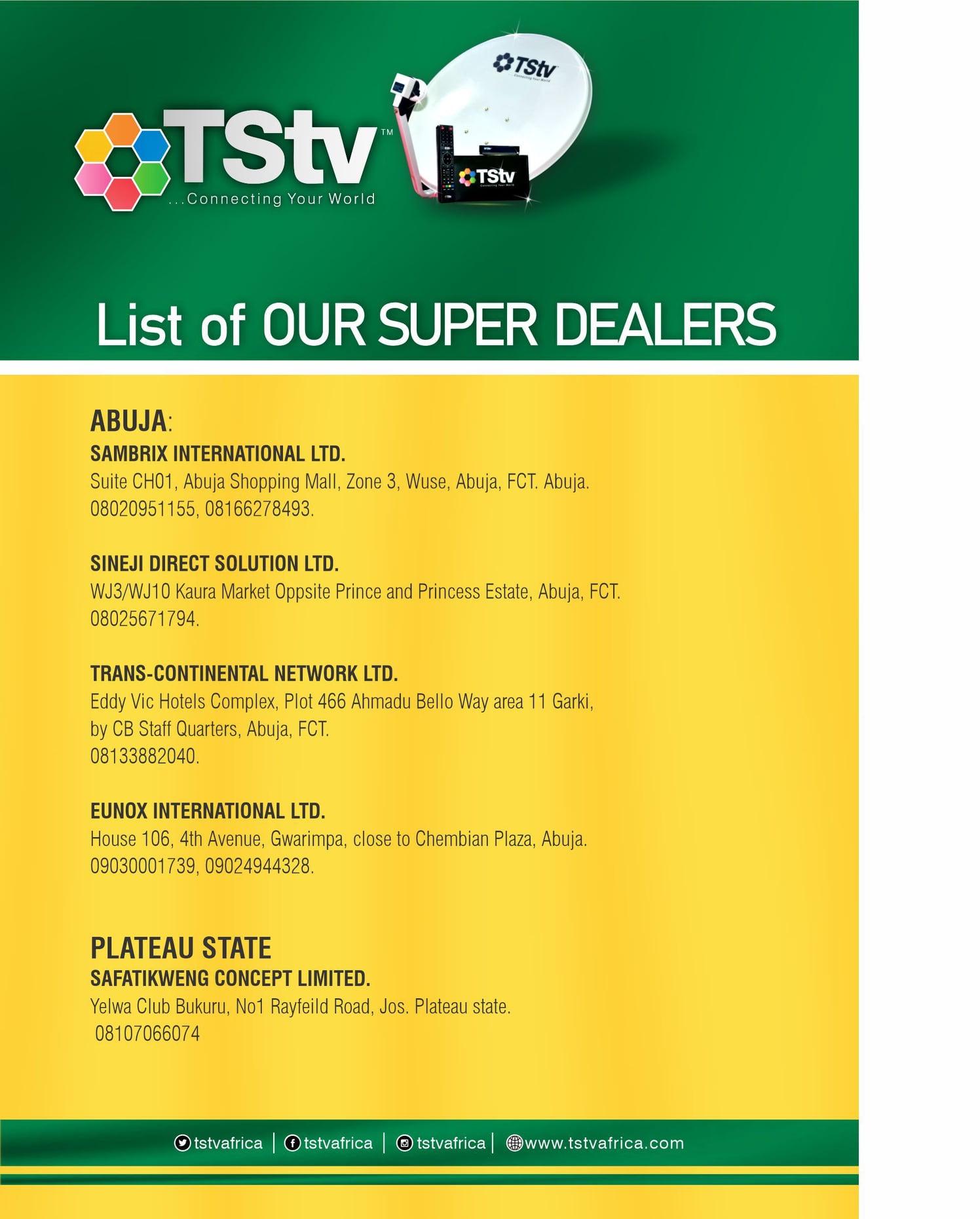 TStv decoder states