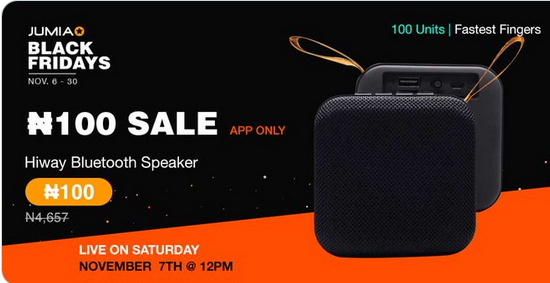 Jumia N100 Sales