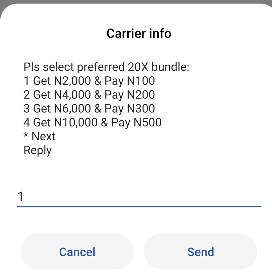 Airtel 20x recharge offer
