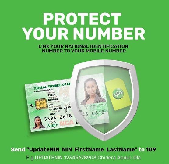 Glo NIN number