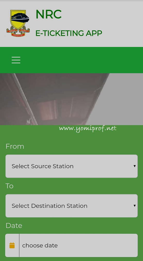 Railway line e-ticketing