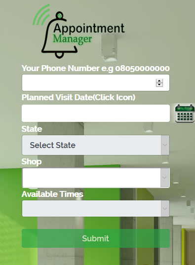 Glo New NIN app appointment manager