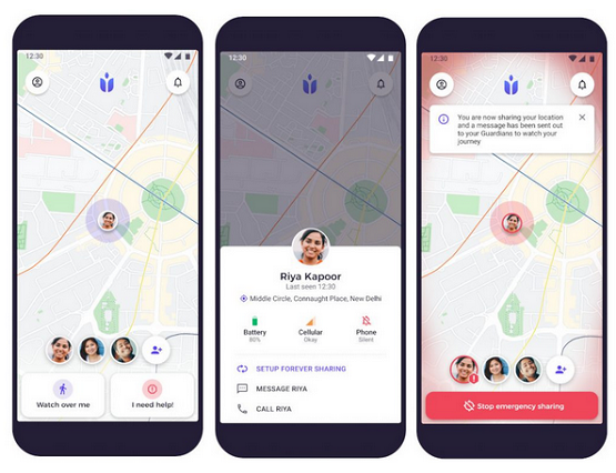 guardians personal safety app