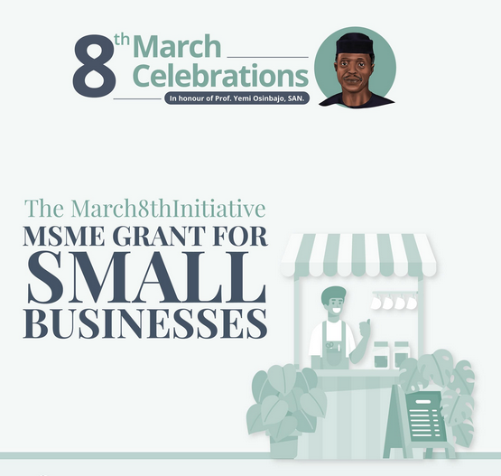 March 8 th Initiative Grant