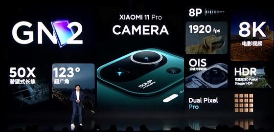 Mi 11 Pro Cameras