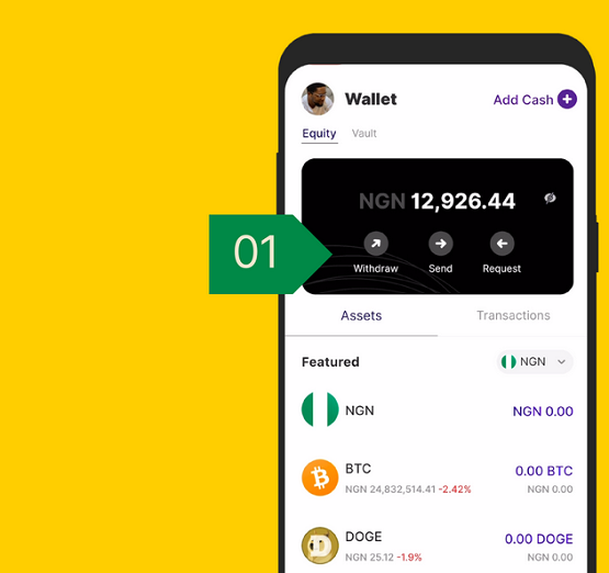 Bundle Africa Wallet crypto
