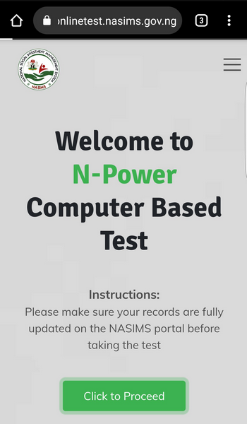 N-Power portal new