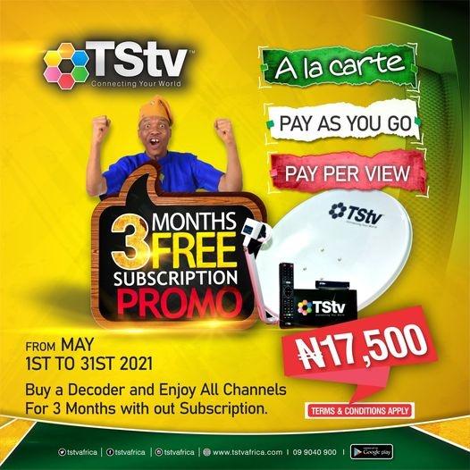 TStv decoders subscription free package