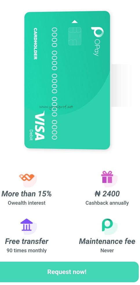OPay Debit Card