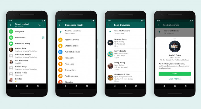 Whatsapp business directory
