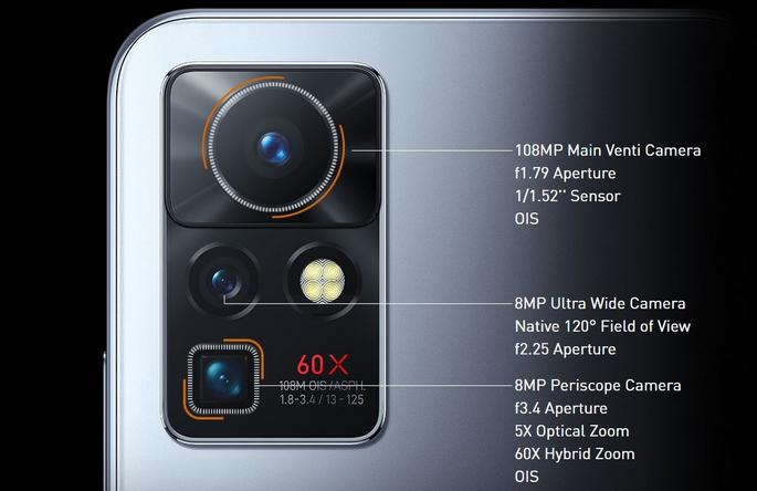 Infinix Zero X Pro camera